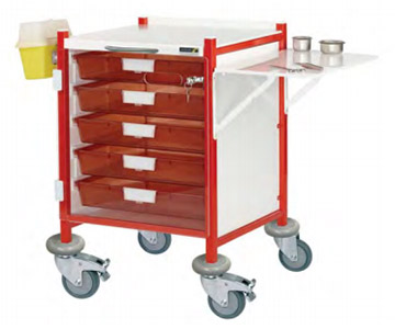 Medical Trolley with Accessories